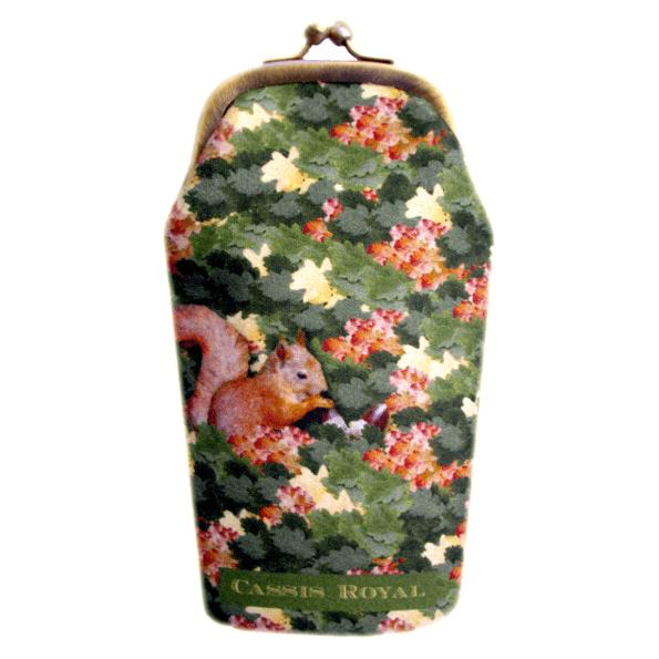cassisroyal-boutique-laguiole-aubrac-aveyron-etui-à-lunette-camouflage-faon-ecureuil-foret-chene-feuilledechene