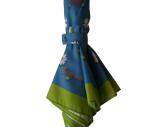 cassis-royal-cassisroyal-parapluie-umbrella-pluie-rain-passionnement-marguerite-paquerette-pois