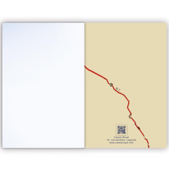 cassis-royal-carnet-nationale-7-route-panneaux-routier-boutique-laguiole-teckel-notebook-train-interieur