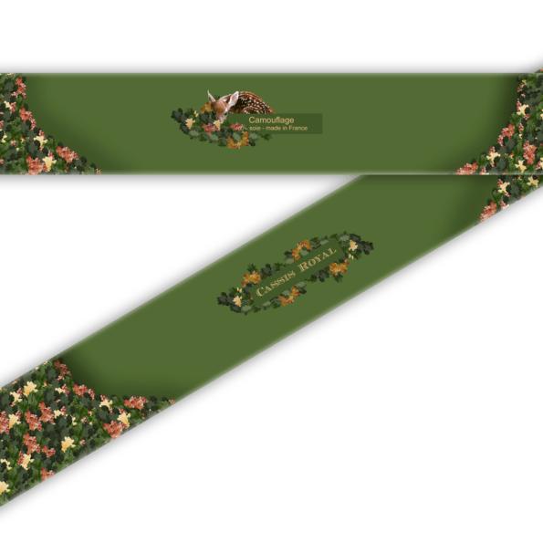 cassis-royal-lavalliere-camouflage-chene-faon-ecureuil-ascot-soie