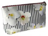trousse de maquillage en satin N°3 magnolia