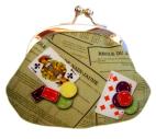 Cassis Royal Porte-monnaie N°1 en satin Nain jaune - cassisroyal.com