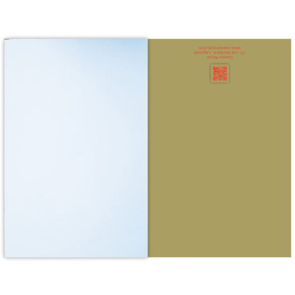Cassis royal carnet note book Nain jaune - cassisroyal.com