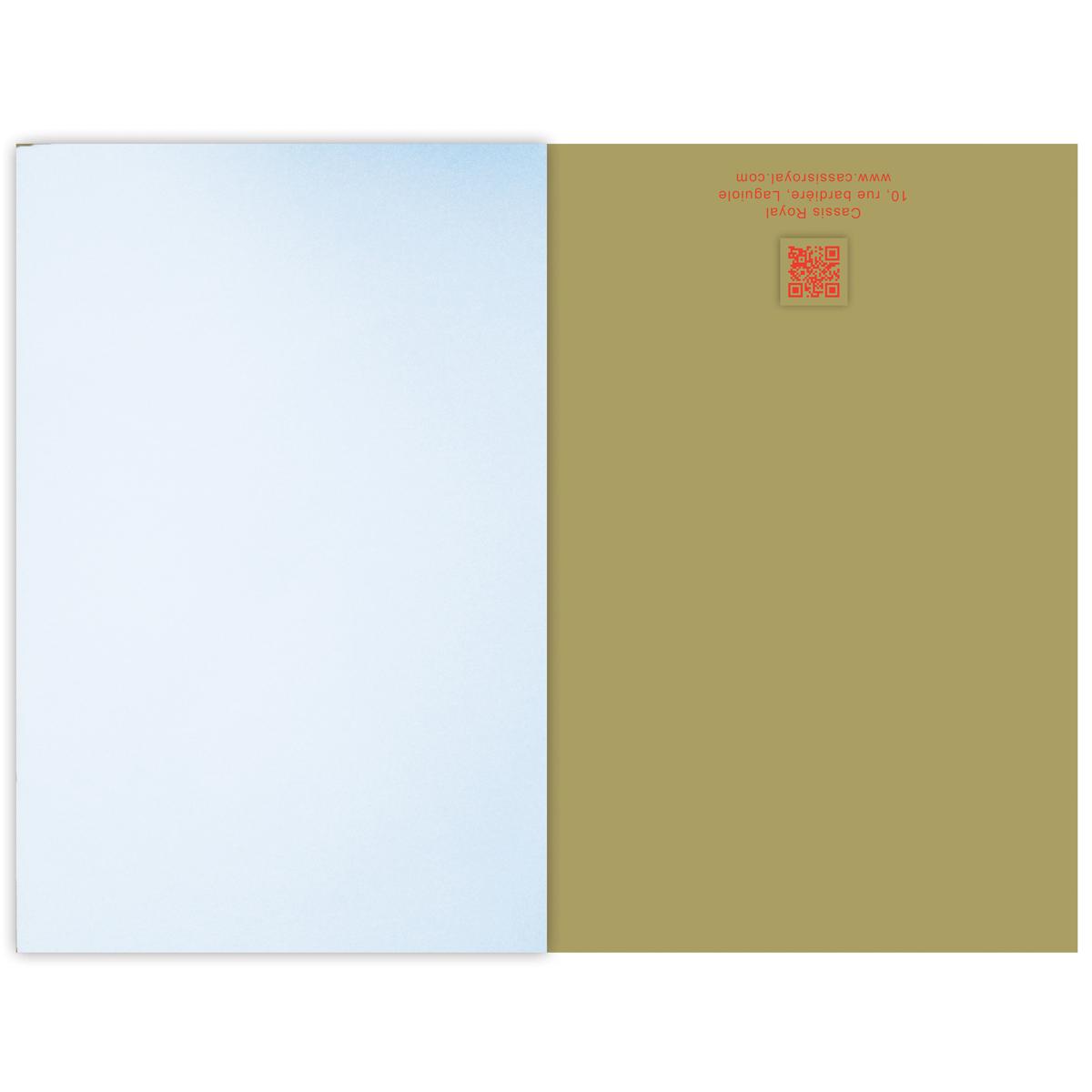 Cassis Royal Carnet Nain Jaune 64 Pages Cassis Royal