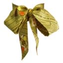Cassis Royal lavallière 100% soie Nain jaune - cassisroyal.com