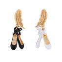 Bijoux N2, Le bal blanc boucles d'oreilles ballerines - cassisroyal.com