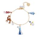 Bijoux N2 le royaume enneigé bracelet breloques - cassisroyal.com