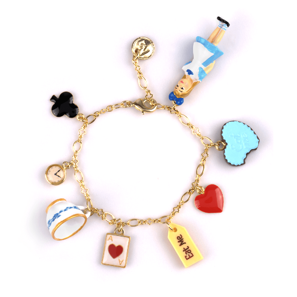 Bijoux N2 le tea time d'Alice bracelet breloque - cassisroyal.com