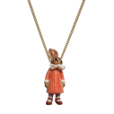 collier porcelaine and mary necklace lapin bunny girl - cassisroyal.com