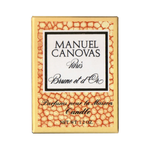 brune & d'or manuel canovas bougie 35gr - cassisroyal.com