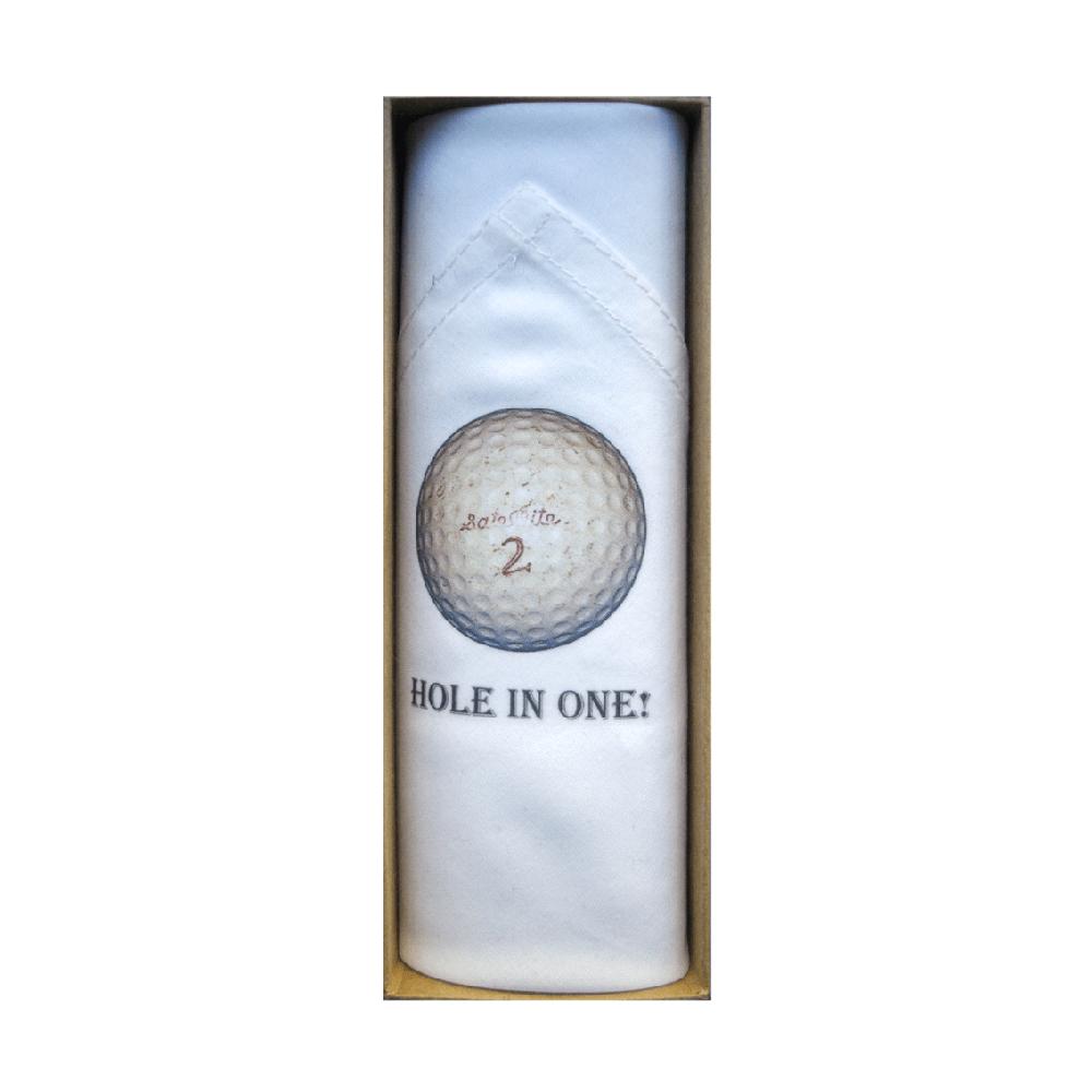 Mouchoir Tamielle homme balle de golf handkerchief - cassisroyal.com