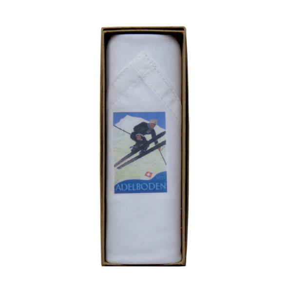 Mouchoir Tamielle homme adelboden handkerchief - cassisroyal.com