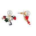 Bijoux N2 promenons nous boucles d'oreilles perles et chaperon en foret - cassisroyal.com