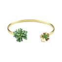 Mishky coralina jonc bracelet medium en perles or - cassisroyal.com