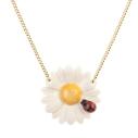 collier porcelaine and mary necklace marguerite et coccinelle - cassisroyal.com