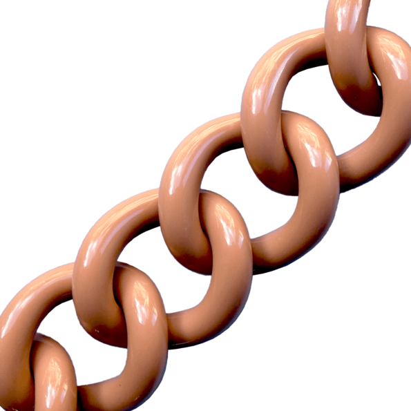 kalaika chunky chaîne bracelet maille acrylique toffe - cassisroyal.com