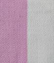 Fouta tissage Jacquard Vérone 100/200 cm, Rose