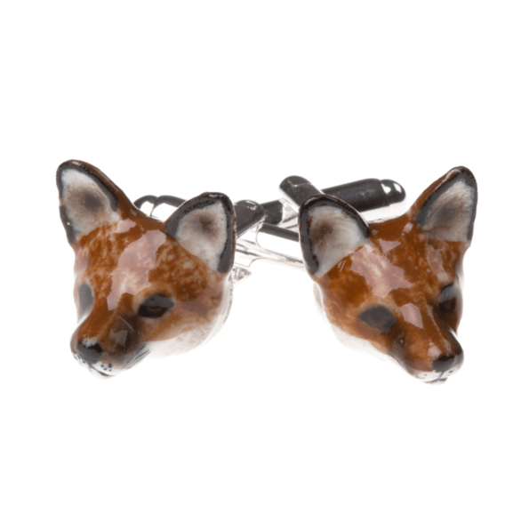 And Mary, boutons de manchette Renard