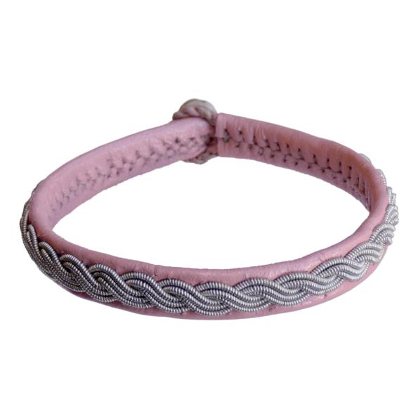 Empreinte Nomade, bracelet Lapon Hanna Coloris Rose Pale - cassisroyal.com