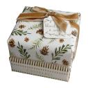 """Savons de Noël """"Bois blond & Ambre"""" 2 x 150g - cassisroyal.com"""