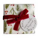 "Savons de Noël ""Vanille & Bergamote"" 2 x 150g - cassisroyal.com"