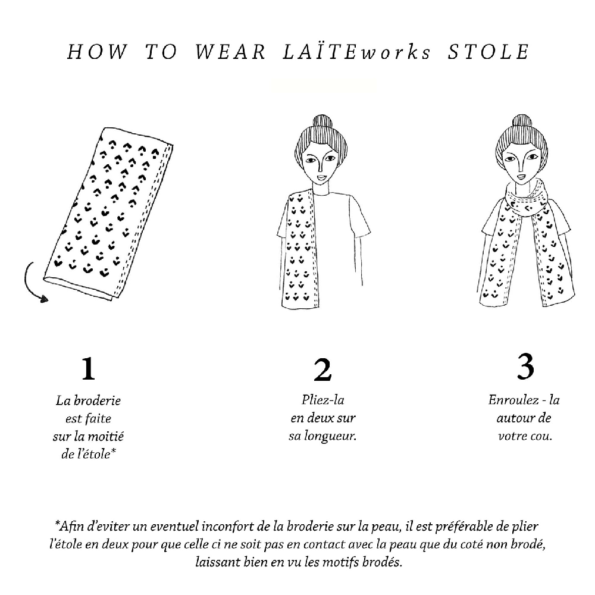Comment porter son Pashmina Laite Works?