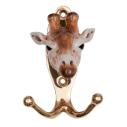 And Mary, Patère en porcelaine Girafe - cassisroyal.com