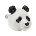 And Mary, Poignée de placard en porcelaine Panda - cassisroyal.com