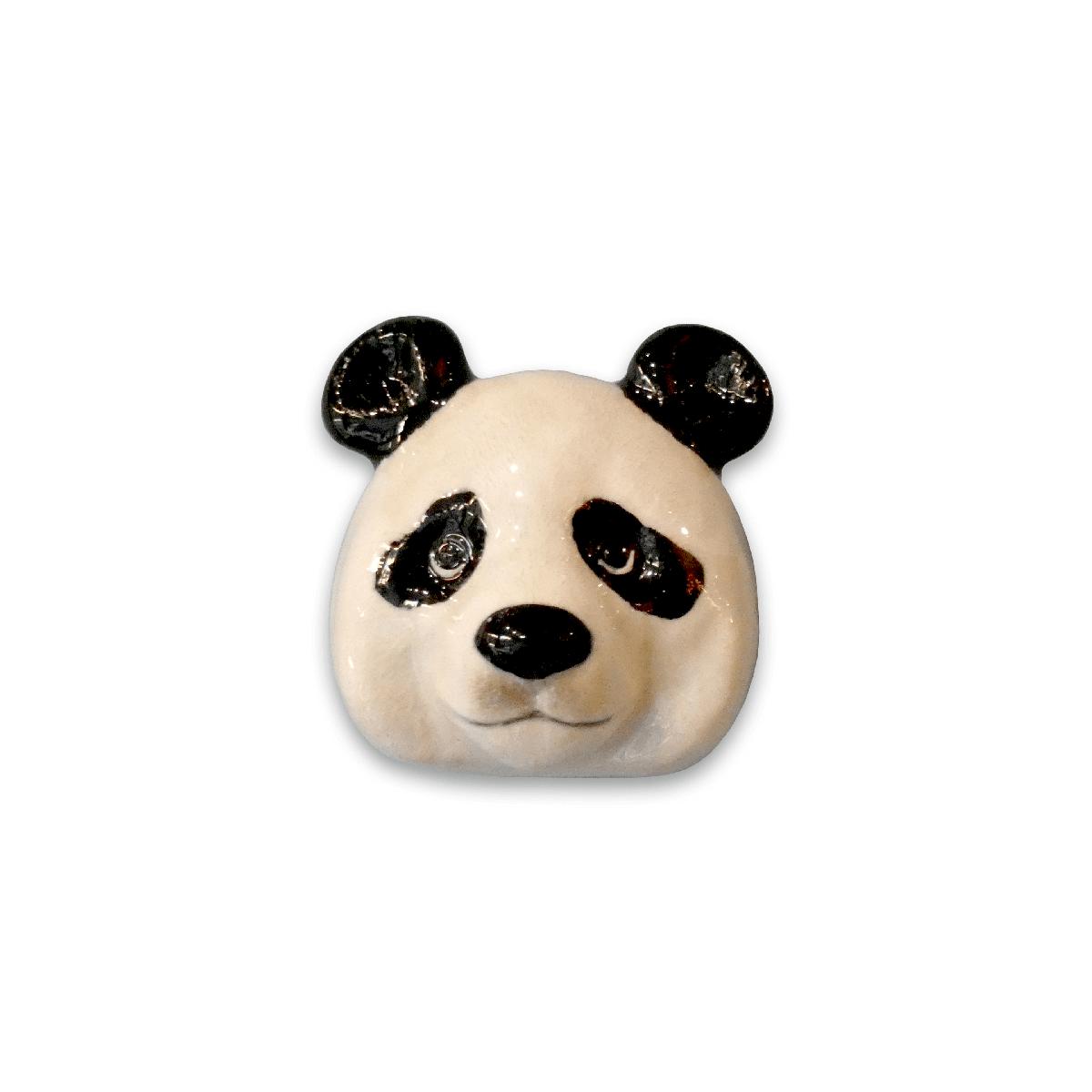 And Mary, Poignée de placard en porcelaine panda