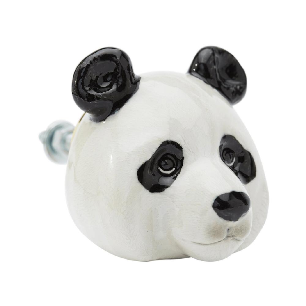and mary poignée de placard en porcelaine panda - cassisroyal.com