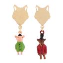 cassisroyal-boutique-laguiole-aubrac-aveyron-n2-bijouxcreatifs-il-etait-une-fois-trois-petits-cochons-boucles-d-oreilles