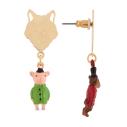cassisroyal-boutique-laguiole-aubrac-aveyron-n2-bijouxcreatifs-il-etait-une-fois-trois-petits-cochons-boucles-d-oreilles-loup