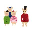cassisroyal-boutique-laguiole-aubrac-aveyron-n2-bijouxcreatifs-il-etait-une-fois-trois-petits-cochons-boucles-d-oreilles-mechant-loup