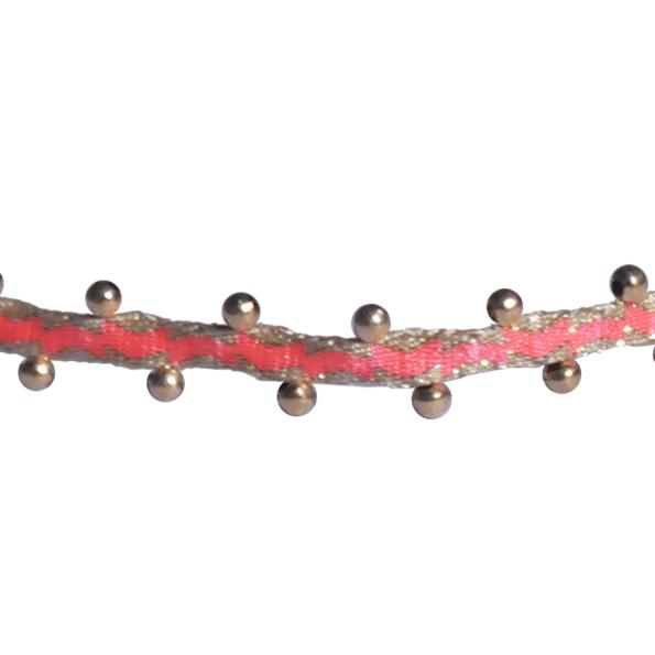 LEJU, Bracelet billes fluo & gold - cassisroyal.com