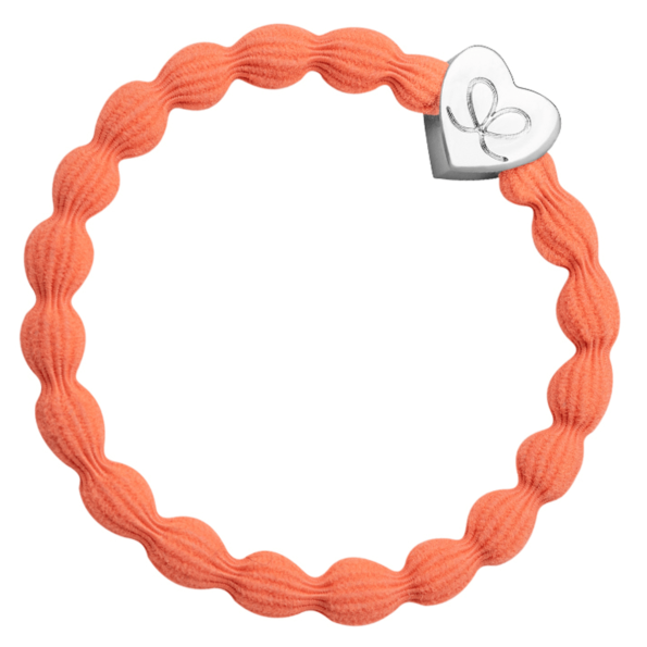 By Eloise, Silver Heart Neon Orange - cassisroyal.com